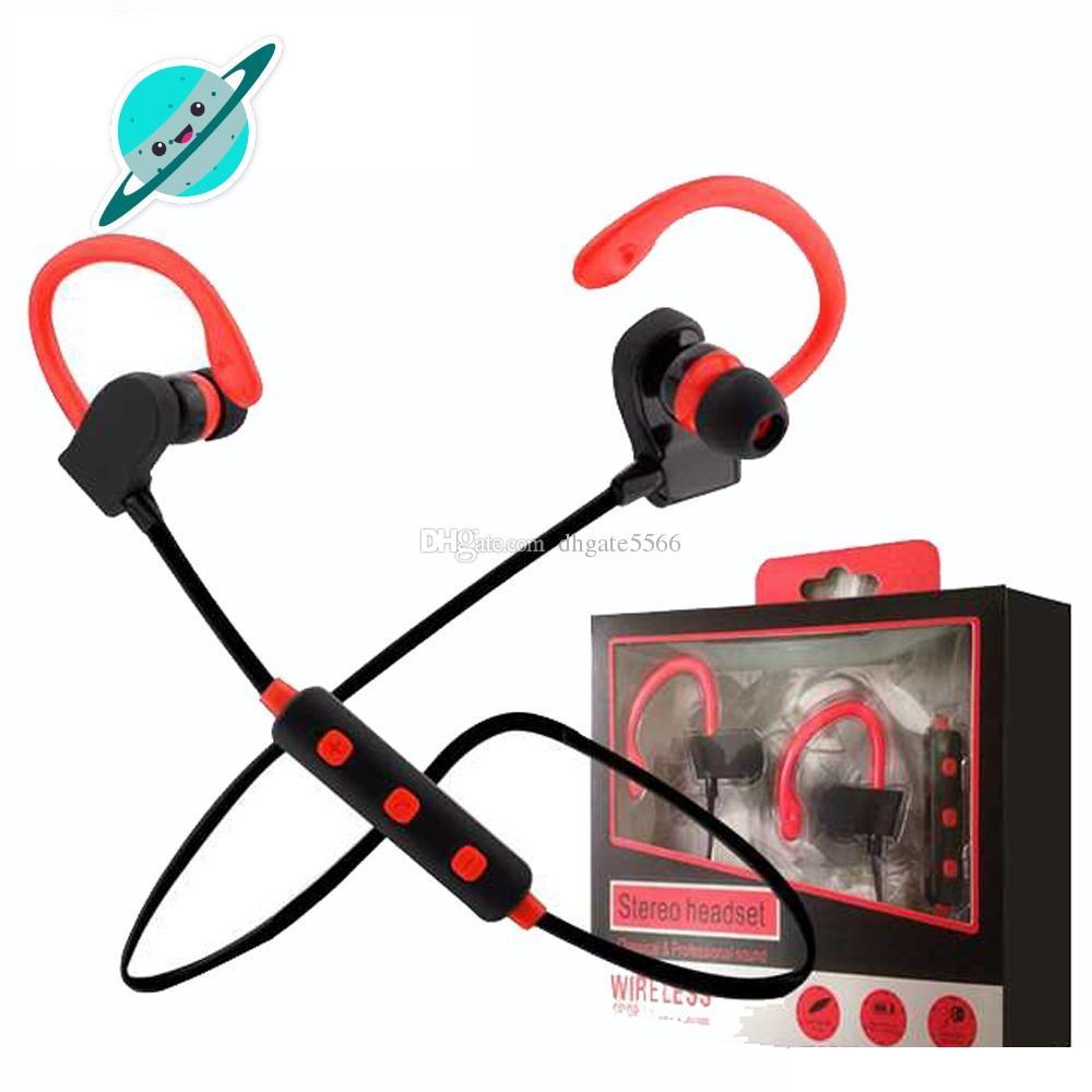 Cuffie Cellulare Bt2 BT 2 Tour Auricolare Bluetooth Sport Earbuds Auricolari  Stereo Over Ear Wireless Neckband Cuffie Con Microfono Cellulare Universale  ... ce553078369a