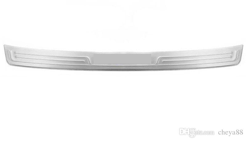 Stainless Steel Outside Rear Bumper Protector Sill Plate Cover Trim for BMW 5 Serie G30 2018 Car Accessory