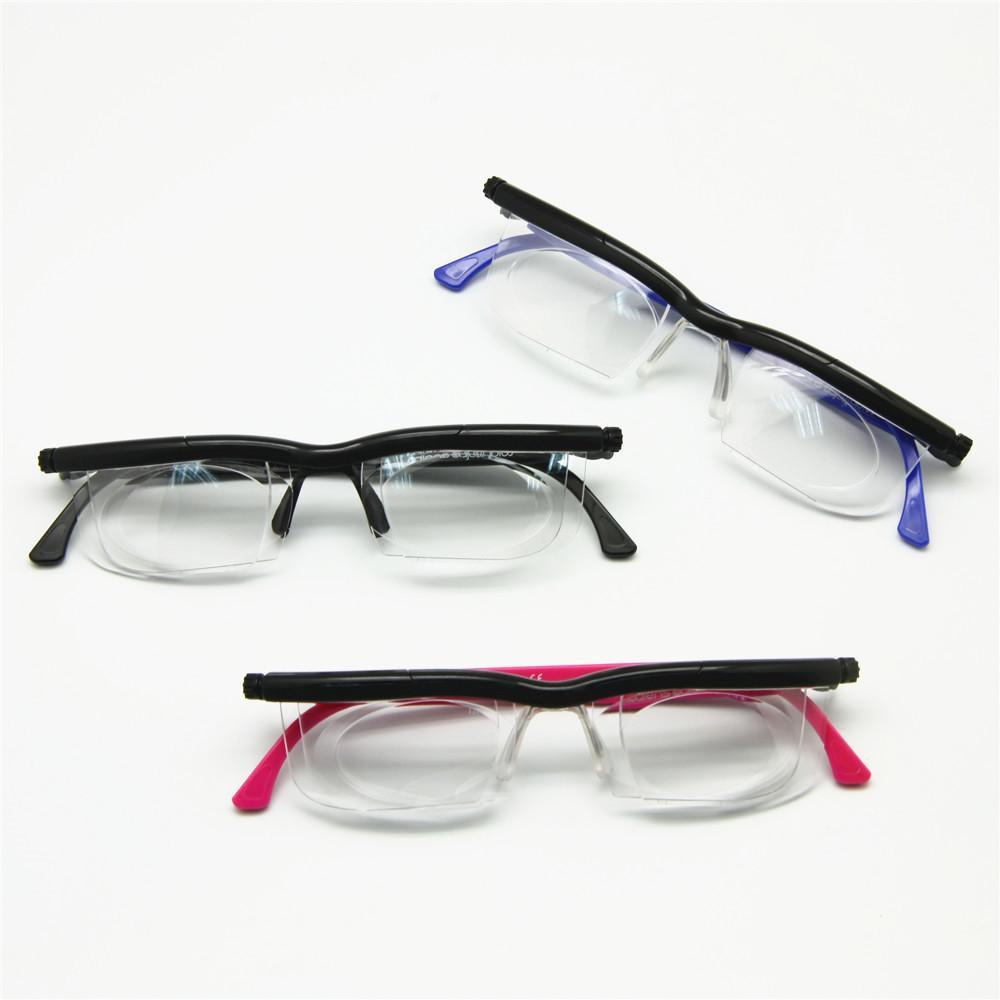 616965acf3 Adlens Focus Adjustable Reading Glasses Myopia Eyeglasses -6D to +3D ...