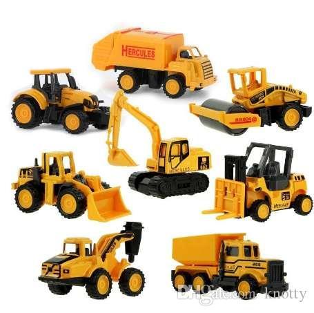 Styles Jouet Pour Voiture Tracteur À Modèle Benne Garçon Cadeau Camion Basculante Mini 8 Ingénierie Voitures Alliage Classique Enfants UGzSqVMp