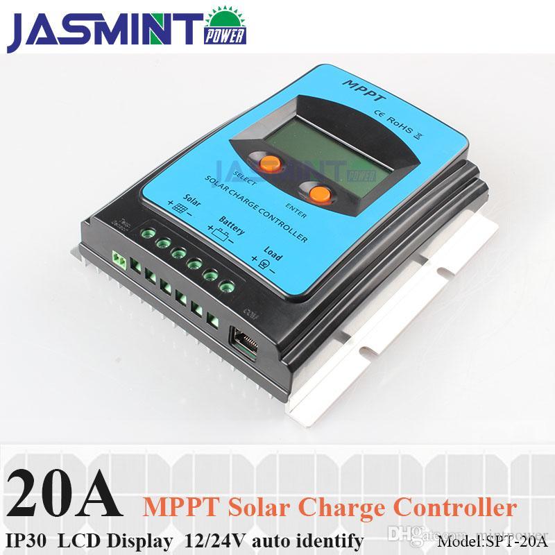 Acheter Écran LCD 20A 12 V   24 V MPPT Panneau Solaire Régulateur De Batterie  Contrôleur De Charge 20a Contrôleur De Chargeur Solaire Mppt Pour Le Ménage  De ... 79d667fe9af0