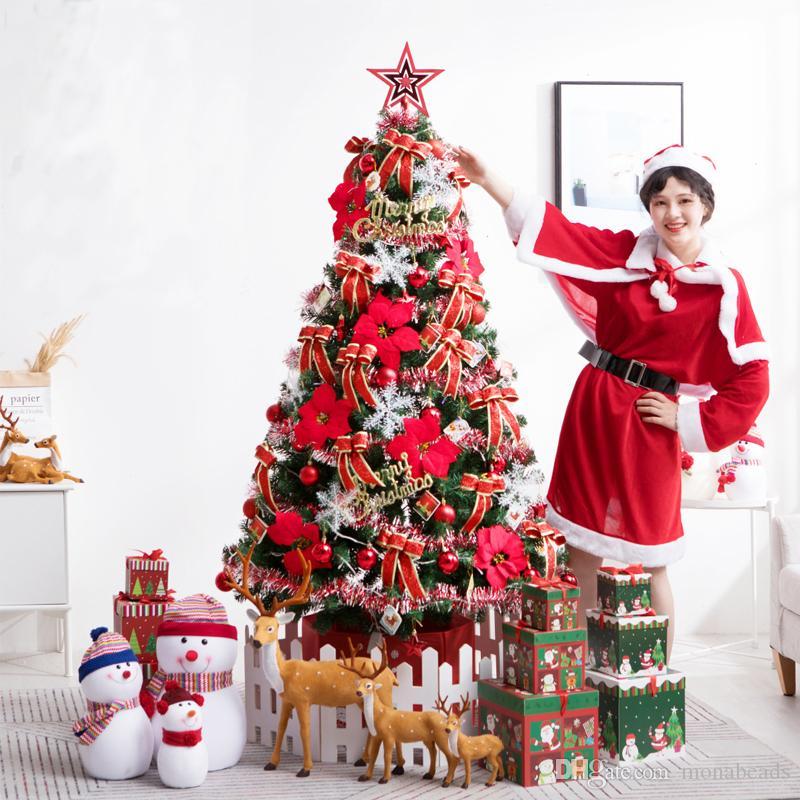 Albero Di Natale 150 Cm.Albero Di Natale 150 Cm Albero Di Natale In Plastica Con Accessori Decorazione Di Capodanno Celebra Albero Artificiale