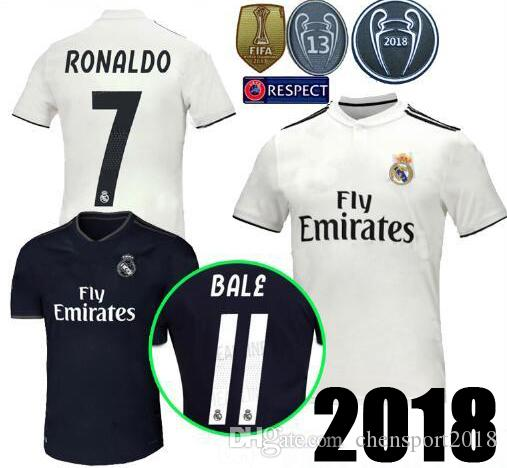 9966652be New 18 19 Real Madrid Champions League Soccer Jerseys AWAY ASENSIO ...