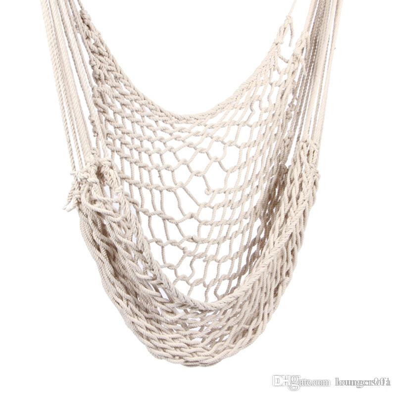 Cotton Rope Reticulate Hanging Chair Children Indoor Outdoors Rocking Swing Foldable Swings Easy To Carry 53ot X Binoculars India Brunton