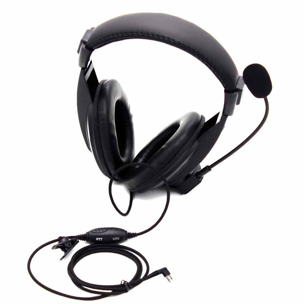 3pcs two way radio Earpiece VOX PSwitch Mic headset for Motorola 2 Pin  Walkie Talkie GP300 GP2000 GP88 GP88S PRO1150 CP125
