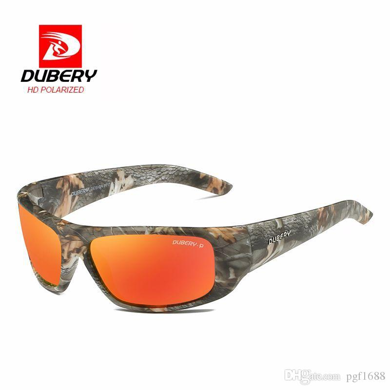 9546470512a DUBERY Brand Popular Polarized Sunglasses Men Retro Pilots Sun ...