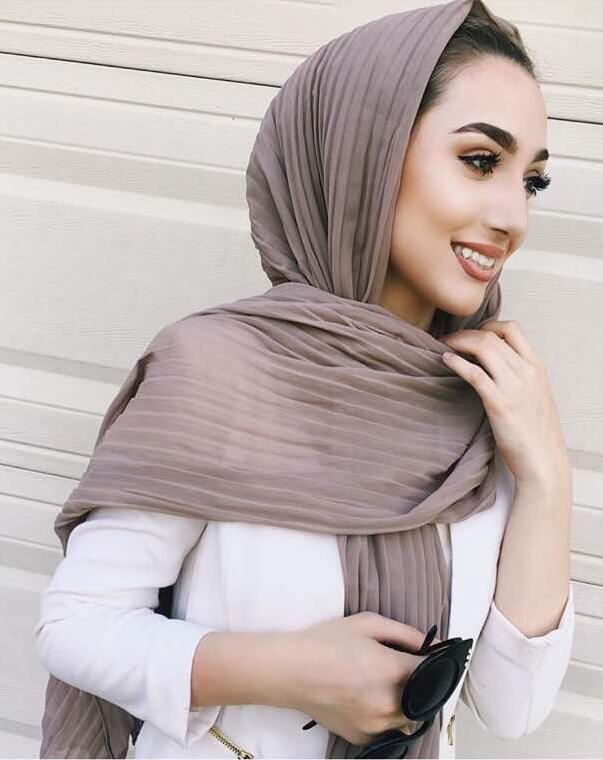 60dafcc8a4850 Women Maxi Hijabs Shawls Oversize Islamic Head Wraps Soft Long ...