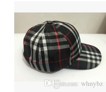 heiß Die Marke Hysteresenkappen 3 Farben Strapback Baseballmütze Bboy Hip-Hop-Polo-Hüte für Männer Frauen ausgestattet Hut schwarz rosa weiß