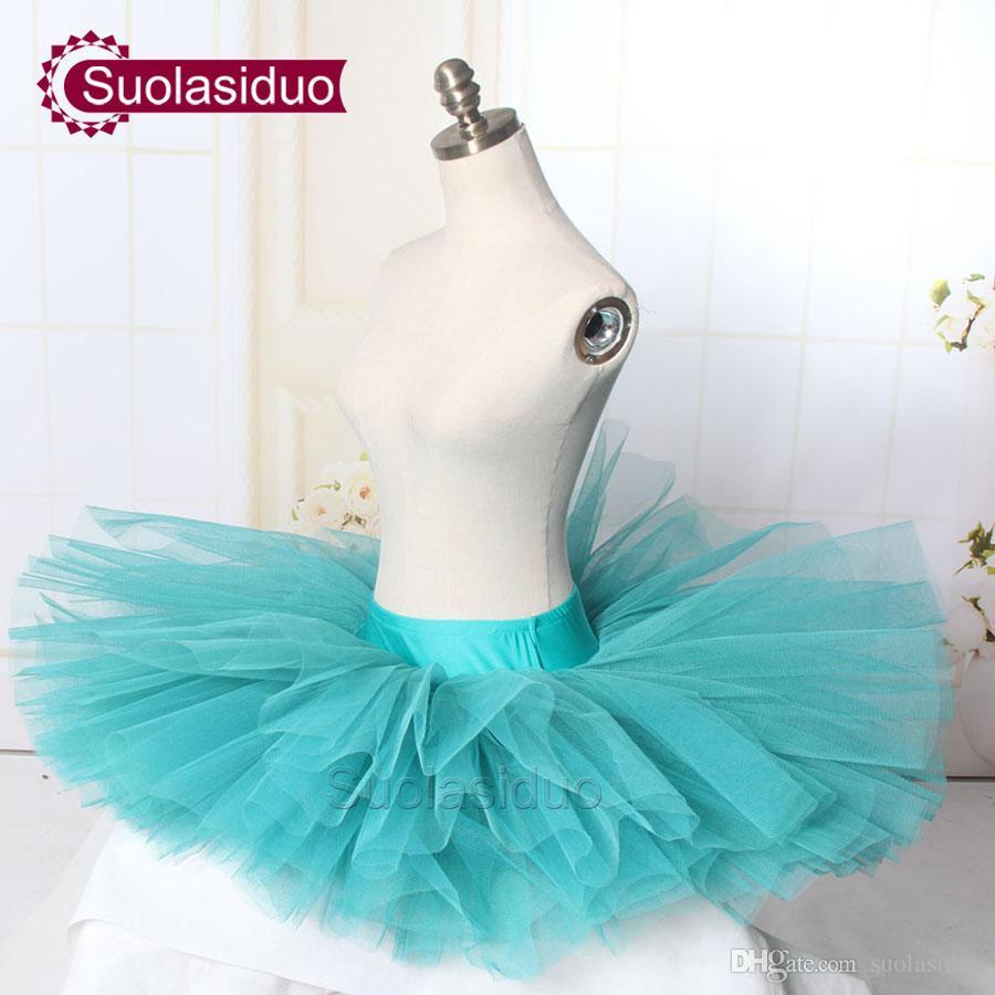 d96fdb6e0216 Girls Green Professional Ballet Tutu Skirt Adult Ballet Dance Dress ...