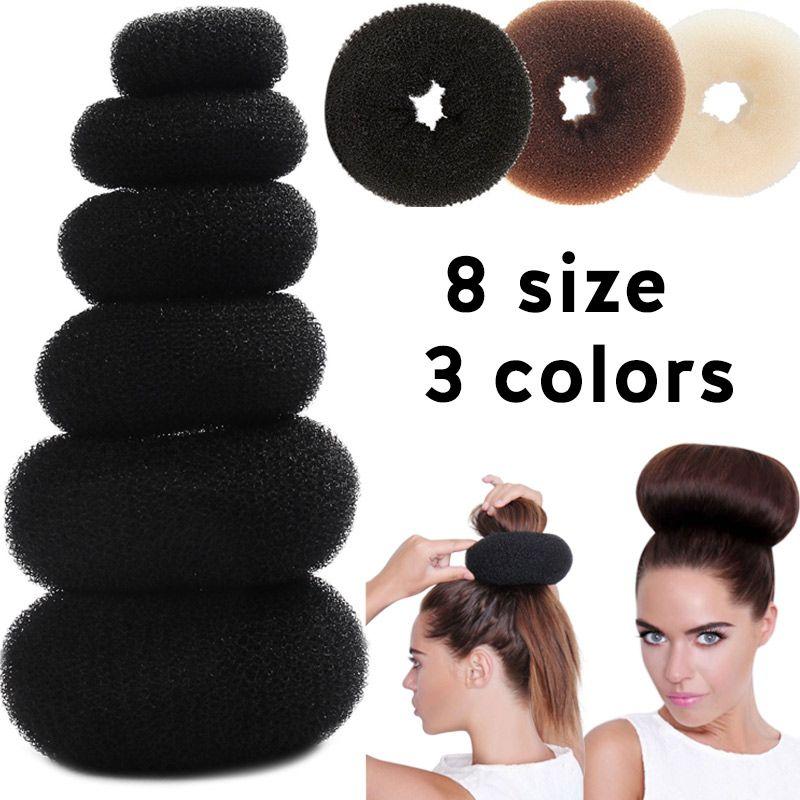 Haarknoten Maker Donut Magie Schaum Schwamm Einfach Grosse Ring Haar Styling Werkzeuge Produkte Frisur Zubehor Fur Frauen Dame