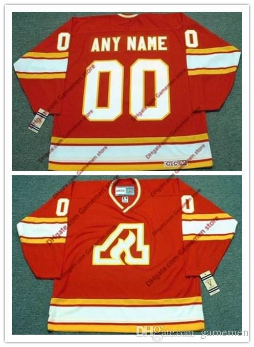 2019 Custom Men S Atlanta Flames Any Name Any Number Embroidery 17 ILYA  KOVALCHUK PAT QUINN 1977 CCM Vintage Retro Ice Hockey Stitched Jersey From  Gamemen 7a56fe696