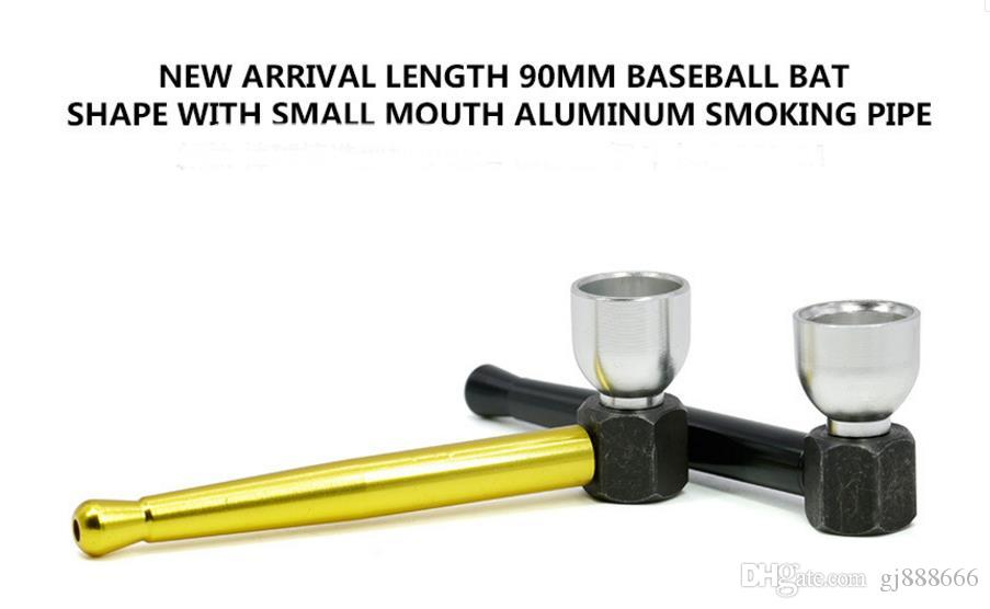 New 90mm Aluminum Alloy Baseball Bat Modeling and Small Pipe