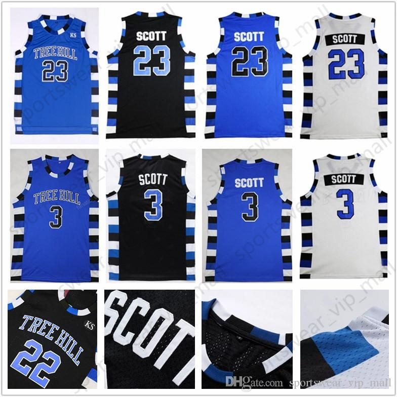 2019 One Tree Hill Ravens Jersey 23 Nathan Scott 3 Lucas Scott Brother  Movie Stitched College Basketball Jerseys From Sportswear vip mall 0962f8d7c