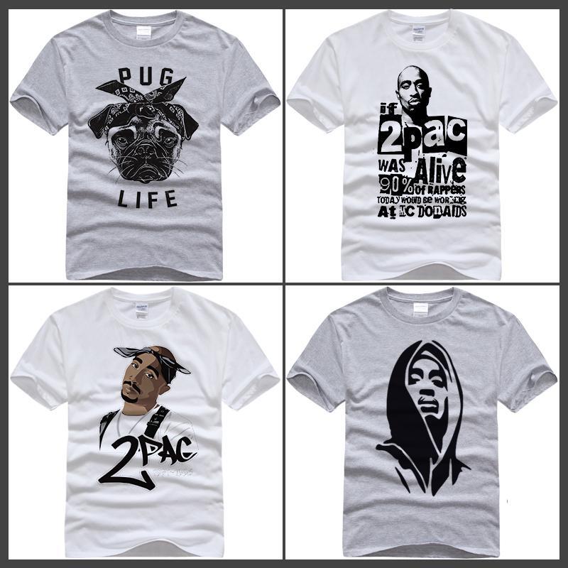 665271f5f375 Men T Shirt America Hiphop Rock Star T Shirt Biggie Smalls /2PAC TUPAC Tee  Shirt Clothes Color Painting T Shirt Tops Cute T Shirts Nerd T Shirts From  ...