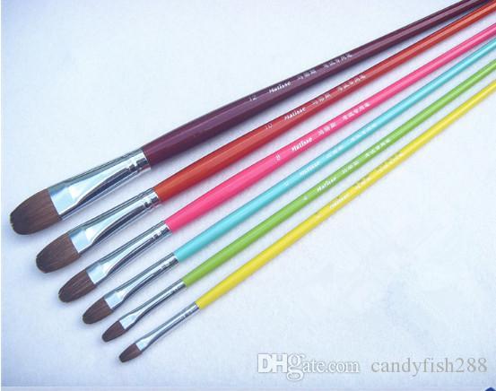 Boyama Malzemeleri Yüksek kaliteli renkli renkli guaj boyama guaj fırça kalem akrilik kalem kutup Matisse gouache