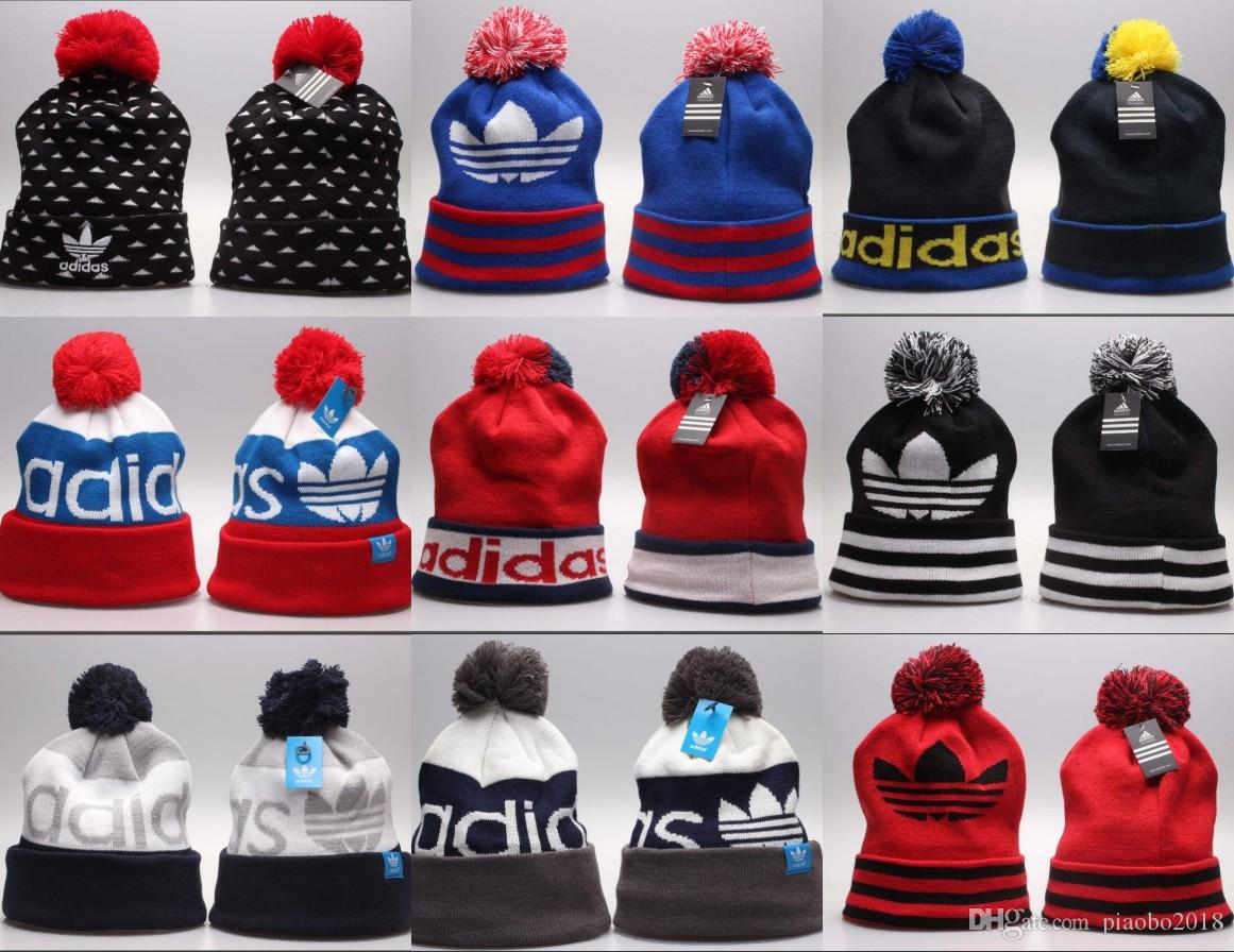 27cada3fab2 High Quality Winter Warm Knitted Hat Letters Embroidered Beanie For ...