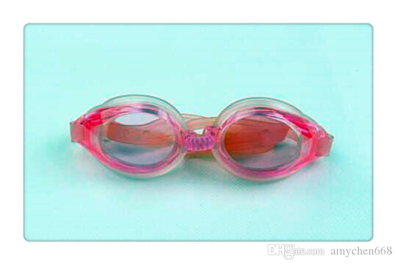 New Swimming Goggles Outdoor Clear Swim Glasses No Leaking Anti UV Protection Waterproof Swimming Eyewear for Children Adult