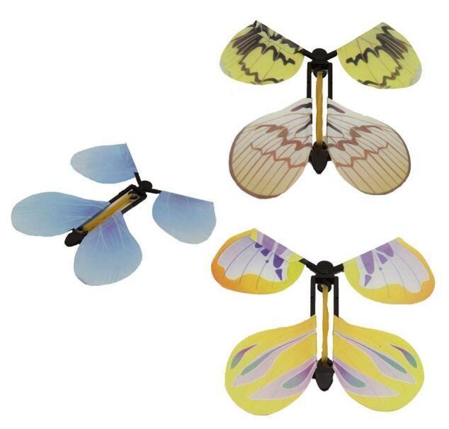 Creative papillon nouvellement magique papillon volant changer avec les mains vides la liberté papillon accessoires de magie tours de magie