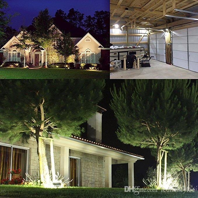 LED Flood Light, 100W 500W Alogeno Equiv, IP65 Impermeabile lavoro all'aperto luci, 6500K Daylight bianco, proiettore esterno garage, giardino