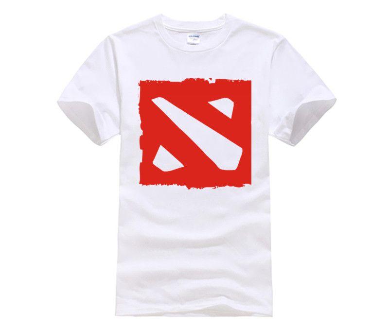 3c7538466 Compre Camisetas Personalizadas Dota 2 Camisetas Algodón Manga Corta  Estampado Dota Camiseta Personalizada Camiseta Redonda Personalizada A   14.21 Del ...