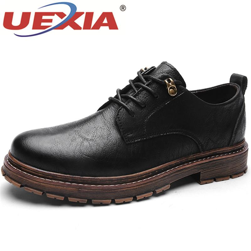 Uexia Mens Penny Loafers Flats Driving Shoes Men Flats Spring