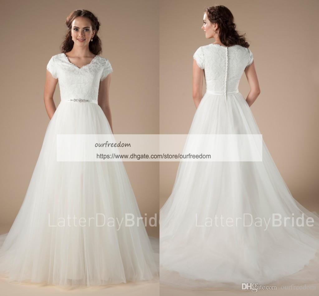 Discount 2018 Boho Style Cheap Wedding Dresses