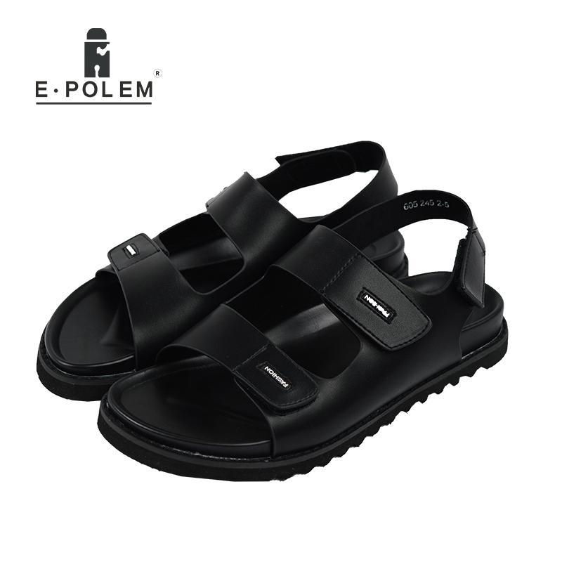 separation shoes 91abd 8b9a9 New Arrival Summer Men Sandals Roma Leisure Beach Shoes Breathable Open Toe  Vintage Fashion Black Outdoor Sandal
