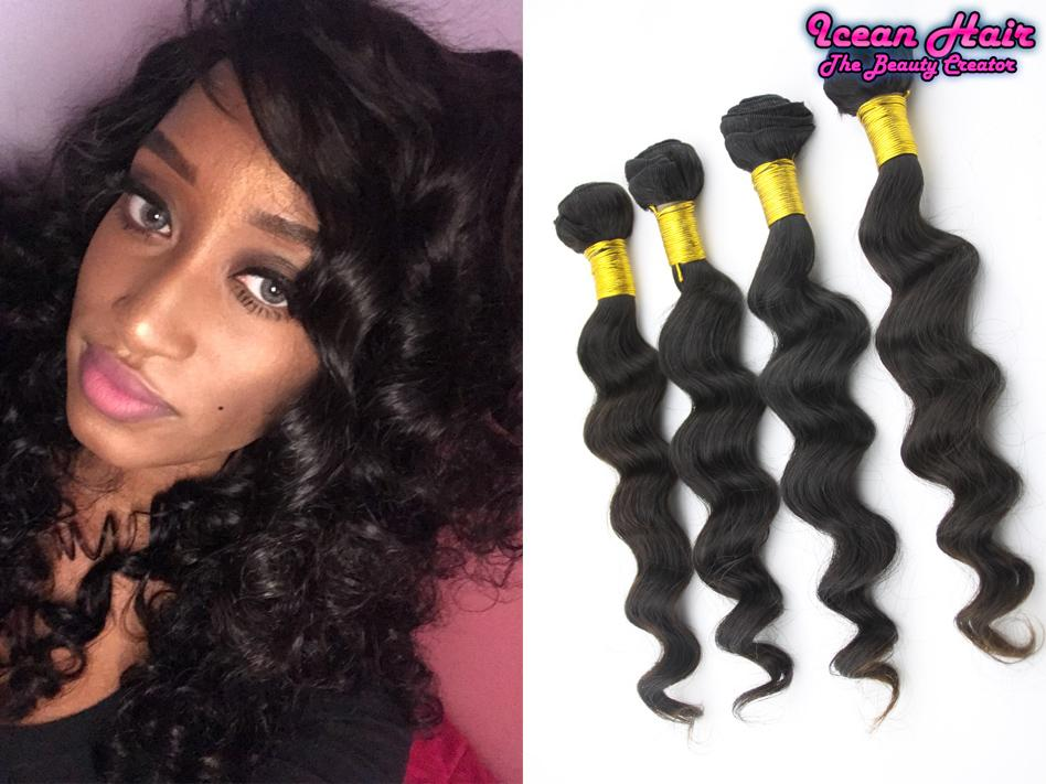 New Shop High Discount Brazilian Virgin Hair Weaves With Loose Wave