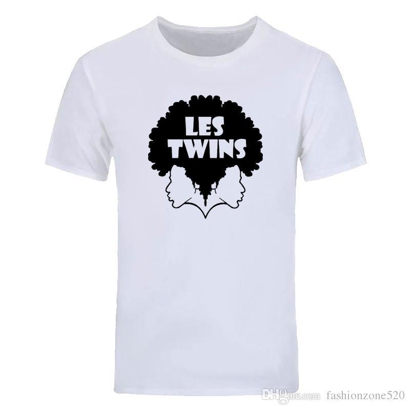 e7f931708b1 Summer Fashion Les Twins Teenager Hip Hop Custom Shirts Short Sleeve Casual  Cotton Man Round Neck T Shirt Tops Tees DIY 01254D Political Tee Shirts  Funny ...