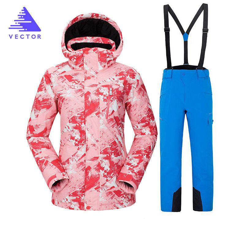 cb8ce6ab85 2019 Winter Ski Suit Women Brands 2018 High Quality Ski Jacket+Pants Snow  Warm Waterproof Windproof Winter Female Snowboarding Suits From Shinyday