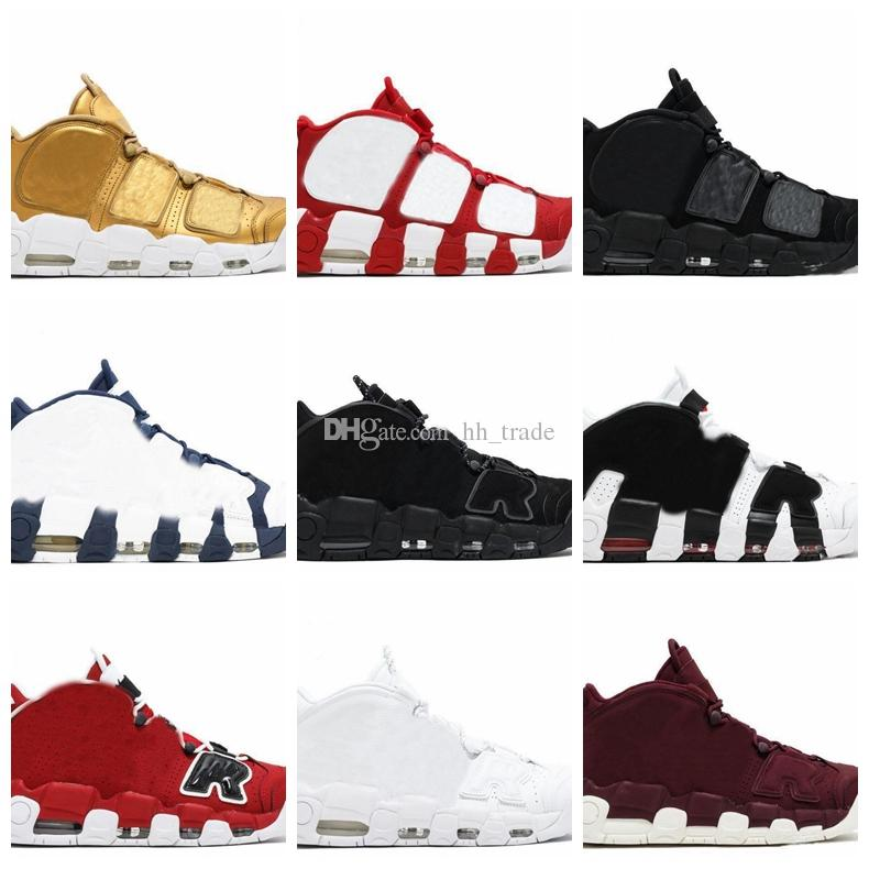 ... Black Mens Basketball Shoes Red White Oreo 3M Scottie Pippen Athletic  Sport Shoes Sneakers Sneakers Online Shaq Shoes From Hh trade b6f4e25f5