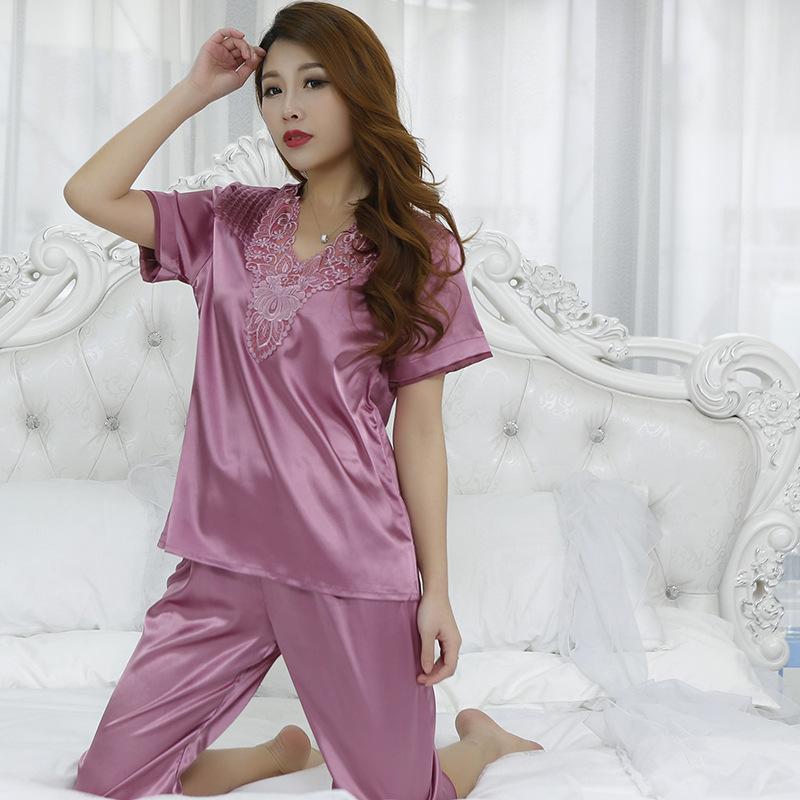 NUOVO Donna Camicia da Notte Abito Notte con punte alta qualità Pigiama-nero bianco