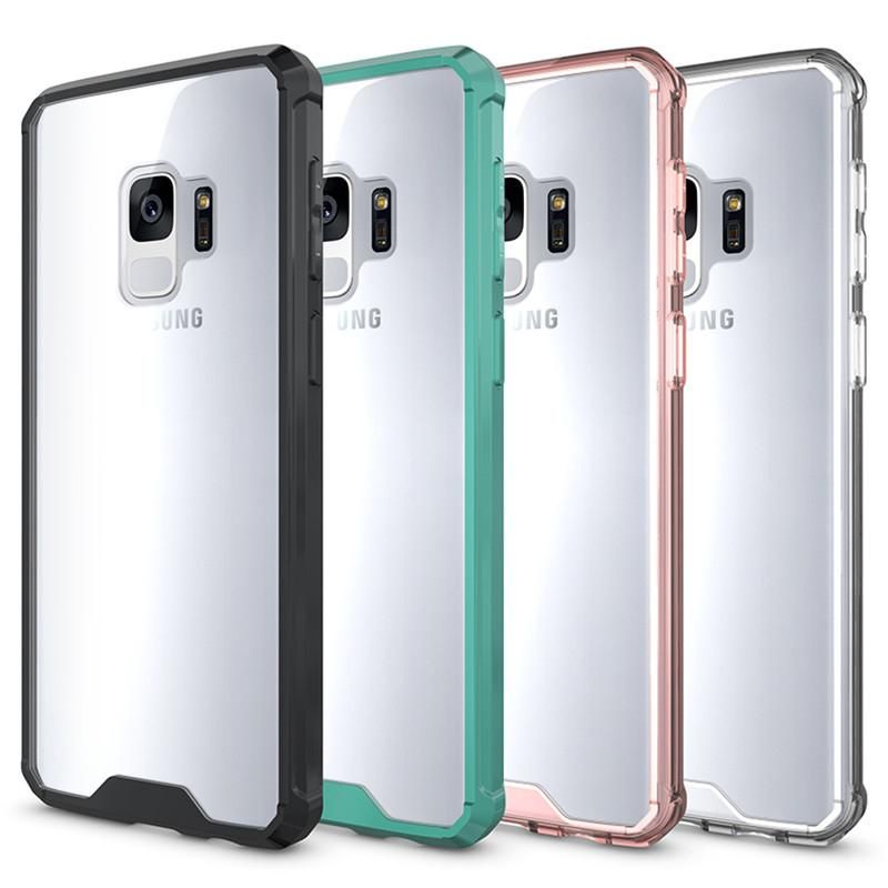 samsung s9 case clear plastic