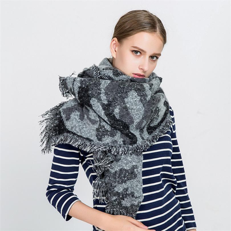 Marca Compre Lujo Lana Mujer Bufanda Invierno Cachemira De UOnIfqO