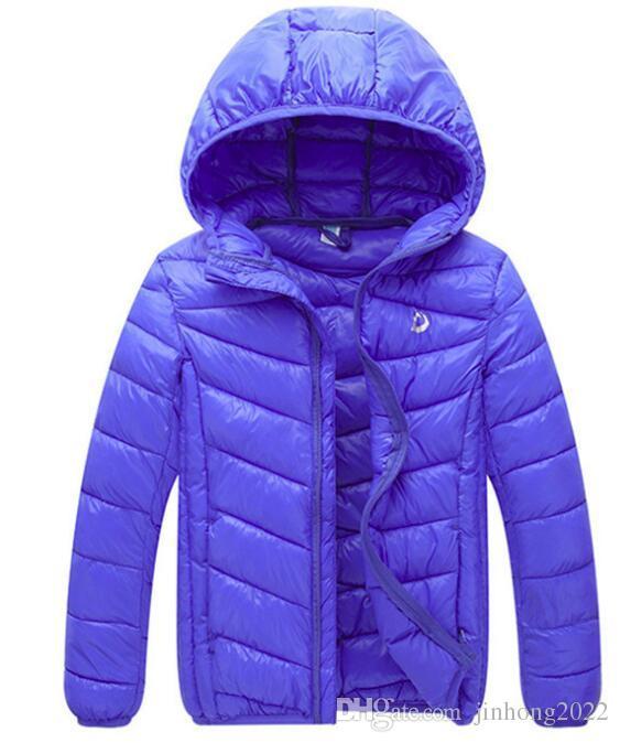 cheap for discount 332b9 b5c20 Winter neue Kinder Daunen Baumwolle Kleidung Jungen und Mädchen Licht  Baumwolle Mantel mit Kapuze große Kinder Baby Baumwolle Jacke koreanischen  ...