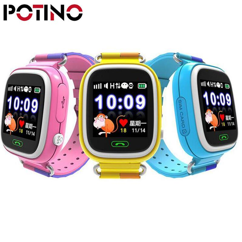 Potino Rastreador Reloj Bebé Pulgadas Emergencia 1 22 Pantalla Táctil De Sos Niños Q90 Gps Inteligente Wifi Alta Llamadas PkiOXuZ
