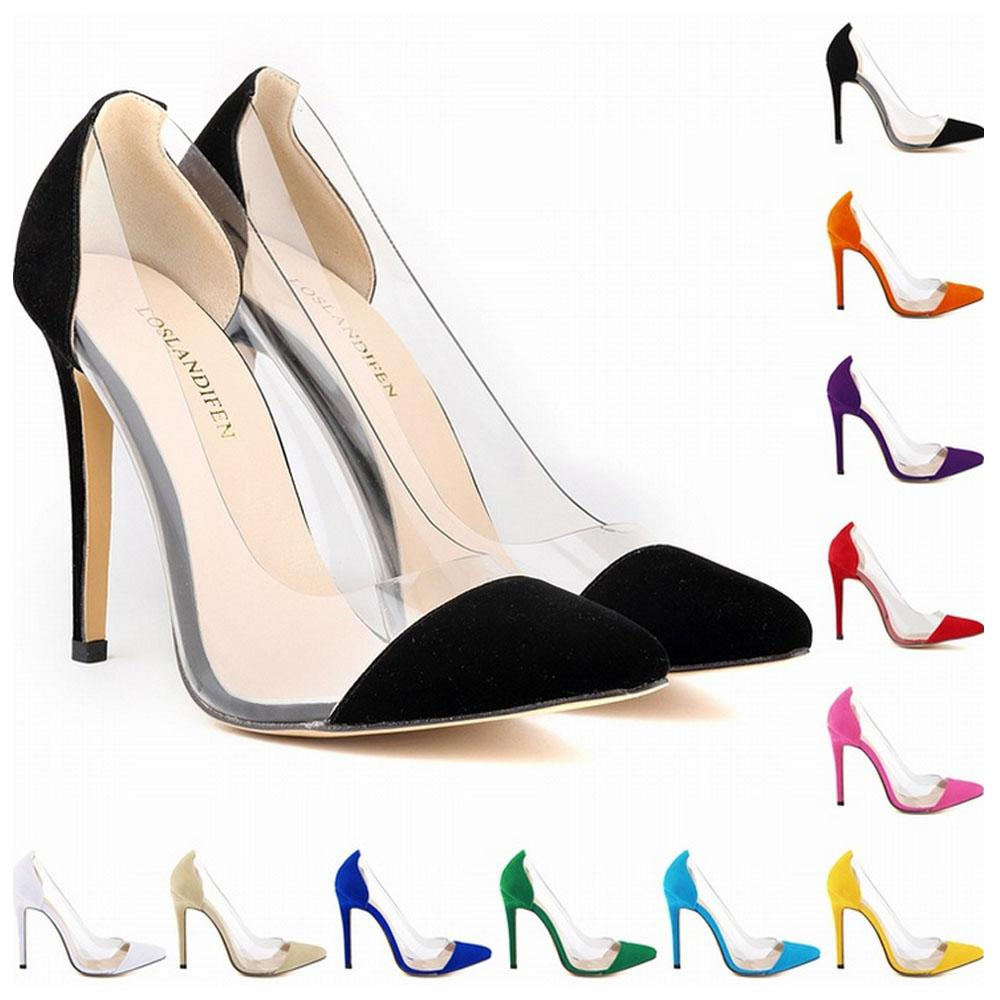 c7c4925b7c Top Quality Women Shoes Red Bottoms High Heels Pointed Toe Patchwork Work Pumps  Shoes US 4 11 D0241 White Shoes Wholesale Shoes From Carevisionshow_en, ...