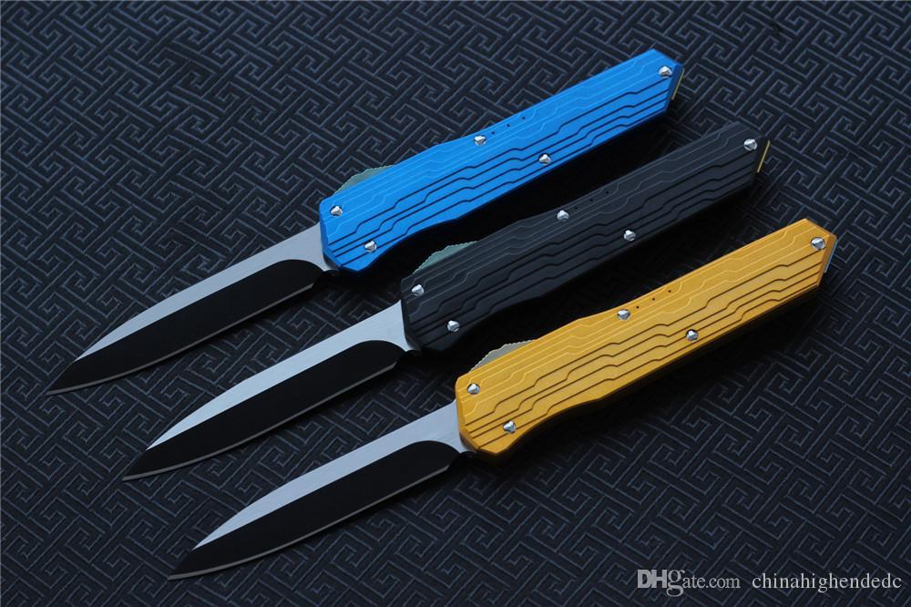 Hochwertige VESPA Version Klappmesser Klinge: M390 StoneWash Griff: 7075Aluminum + TC4, Outdoor-Überlebensmesser EDC-Werkzeuge