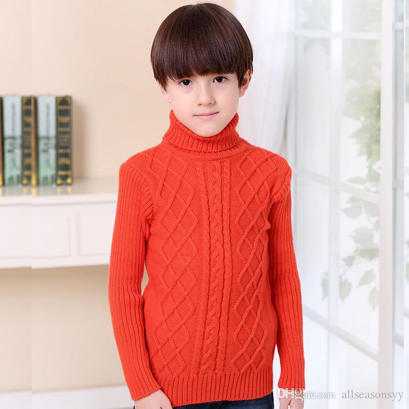 Brand Sweater School Boys Girls Winter Christmas Sweaters Children