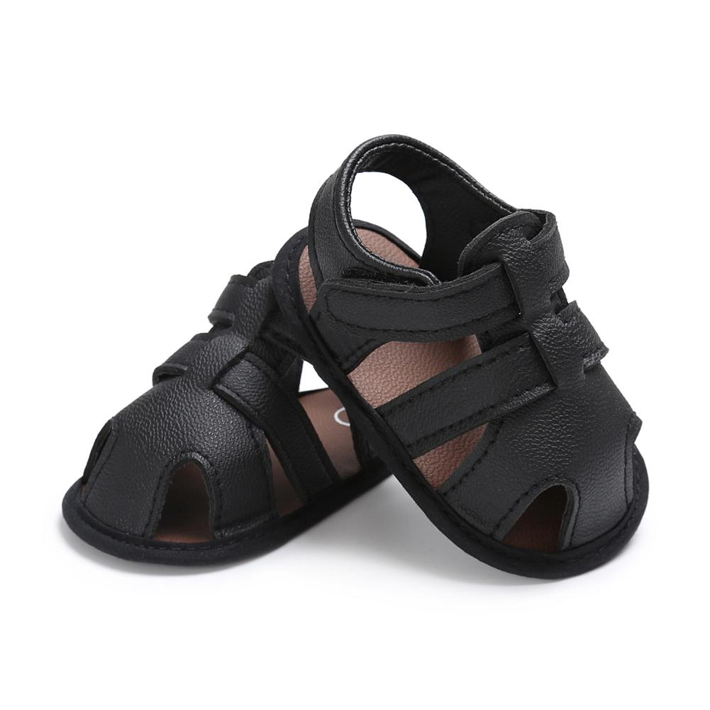3ab891dd3b2 2019 Baby Boy Shoes Newborn Footwear Black Grey Male Baby Shoes Summer  Toddler First Walker PU Leather Infant Prewalker From Vingner, $25.98 |  DHgate.Com