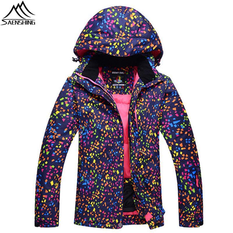 Winter Atmungsaktive Berg Skifahren Wear Frauen Snowboard Outdoor Ski Trending Typ Wasserdicht Snow Für Jacken Jacke hQdtrs
