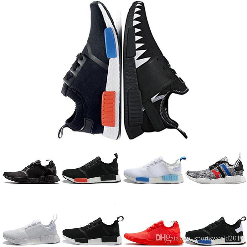 newest cfadf 6d301 Adidas NMD Boost Barato R1 Runner Nbhd Primeknit Triple Negro Blanco Verde  Camo Mens Running Shoes Hombres Mujeres Mens Nmds Runners Xr1 Zapatillas De  ...