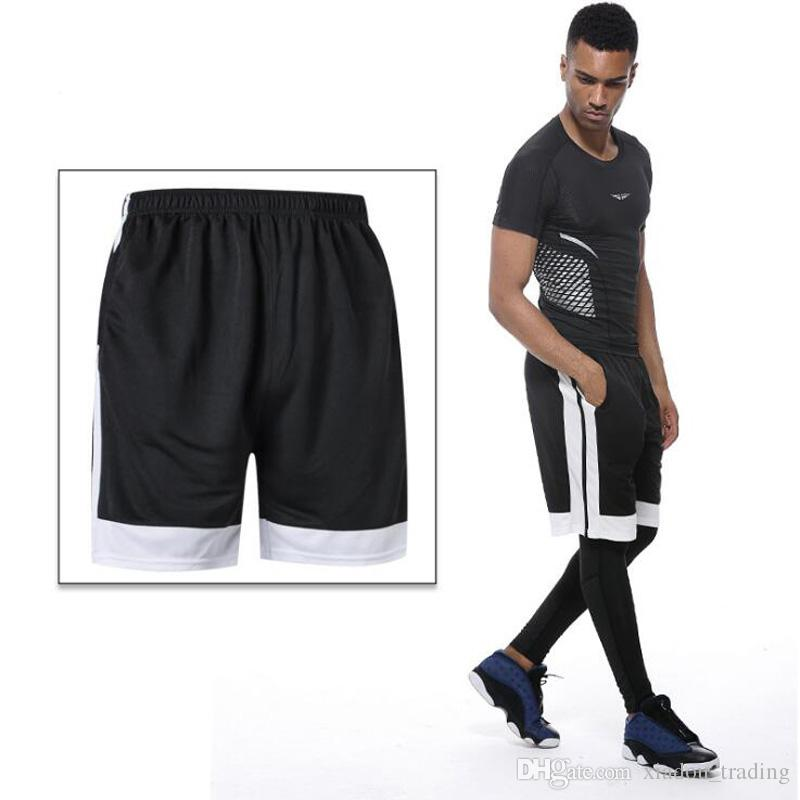 Quick Drying Mens Basketball Shorts Gym Sports Patchwork Bodybuilding  Cycling Running Shorts Fitness Short Pants Casual and Comfortable