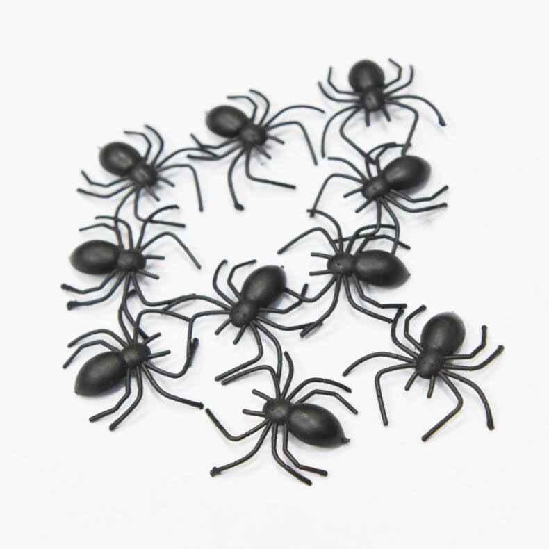 Very Realistic 10 Fake Joke Spiders Great Joke Prank Scary Trick April Fool