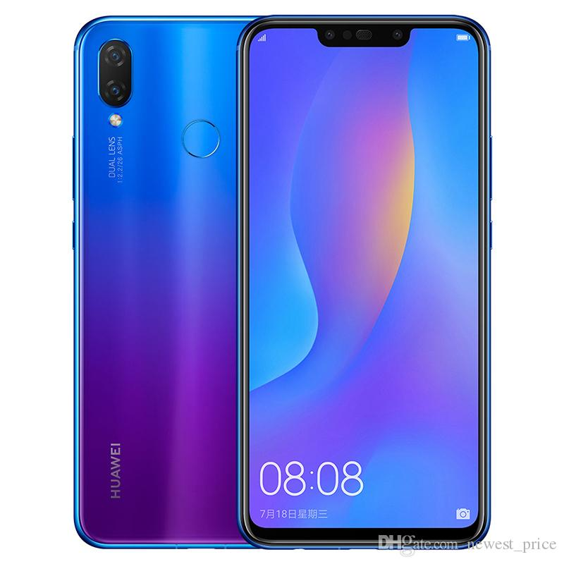 Original Huawei Nova 3i 4GB RAM 128GB ROM 4G LTE Mobile Phone Kirin710 Octa  Core Android 6 3