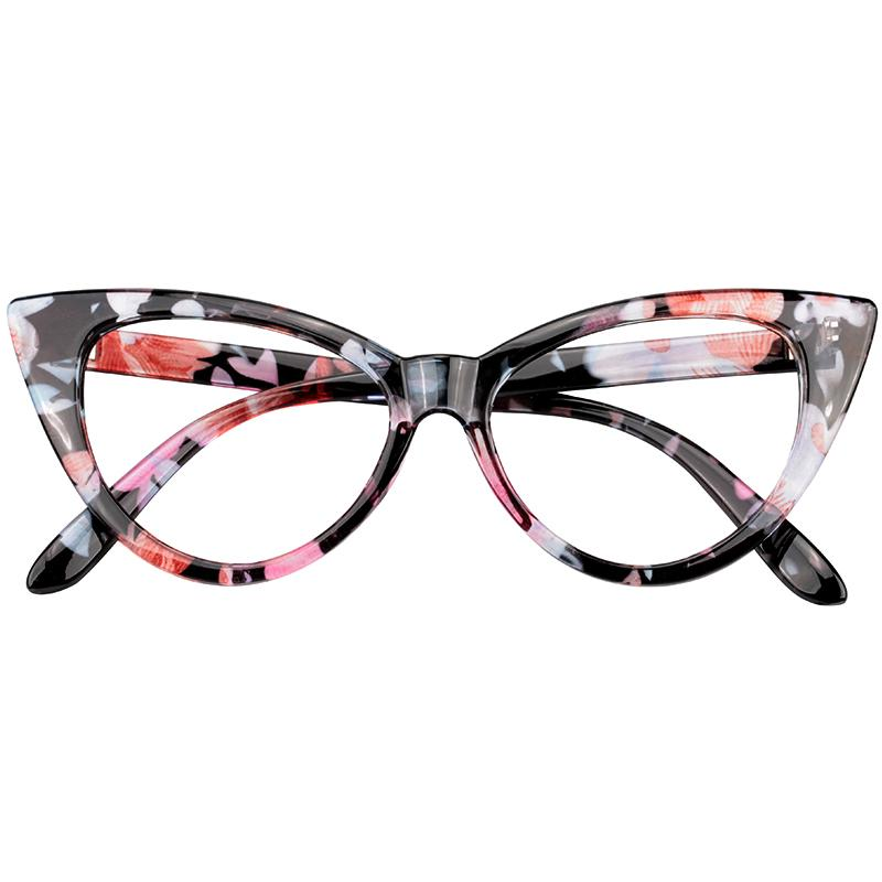 14fc8db750 SOOLALA Reading Glasses Women Cat Eye Glasses Full Frame Eyeglasses +0.5  0.75 1.0 1.25 1.5 1.75 2.0 2.5 2.75 3.0 3.5 4.0 4.5 5.0