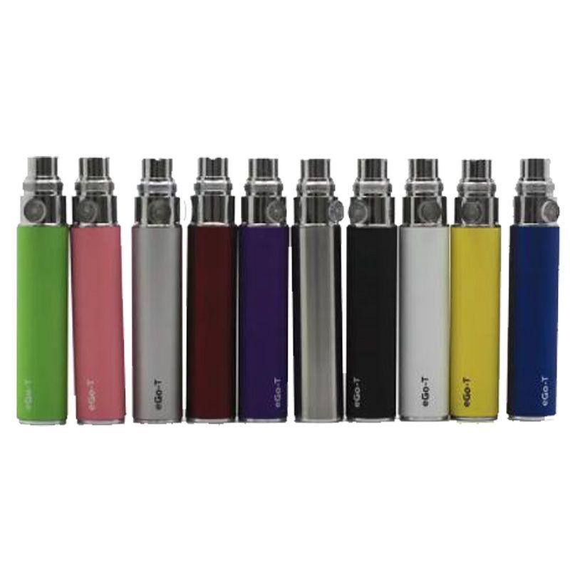 Ego Bateria 1100 mah 900 mah 650 mah Vape Ego-T C Ecig Baterias de Lítio recarregável Multi Cores 510 Rosca Para CE4 MT3 H2 Tanque