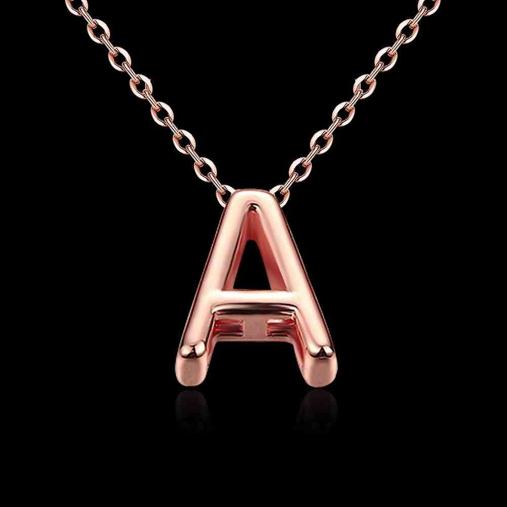 Meilleur ami meilleurs amis collier de cristal autrichien lettre A colliers multicouches oso KNWN016