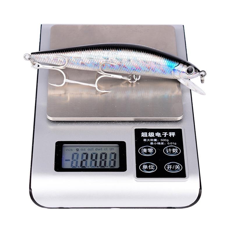 Бренд классический ABS пластик гольян Лазерная приманка 2# BKB крючки 14.5 см 25 г соленой воды рыбалка воблеры бас воблер приманки
