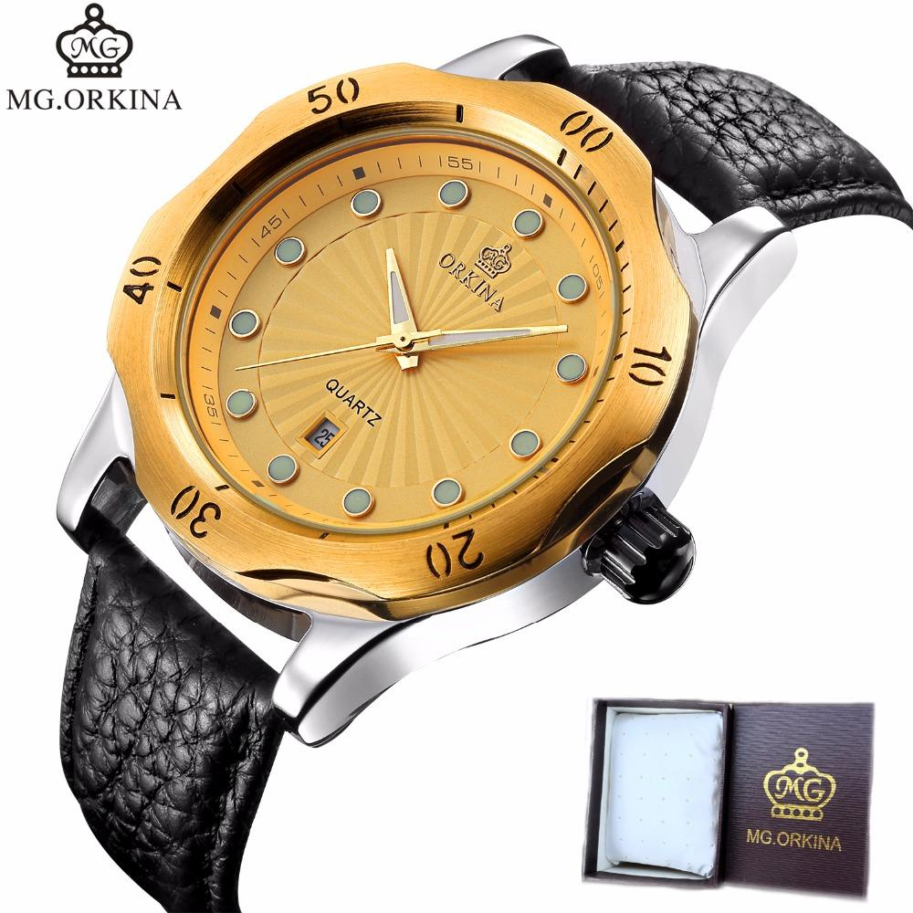 d006806d4c7 MG ORKINA Quartz Wrist Watch Men Watches Top Brand Luxury Famous Wristwatch  For Male Clock Relogio Masculino Relog Men Hodinky Wrist Watches For Sale  Buy ...
